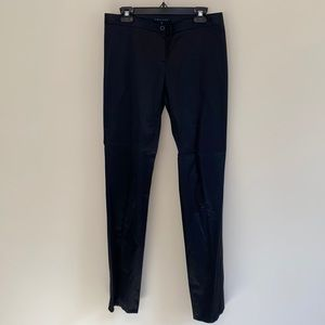Lk NEW THEORY black shinny skinny pants size 8
